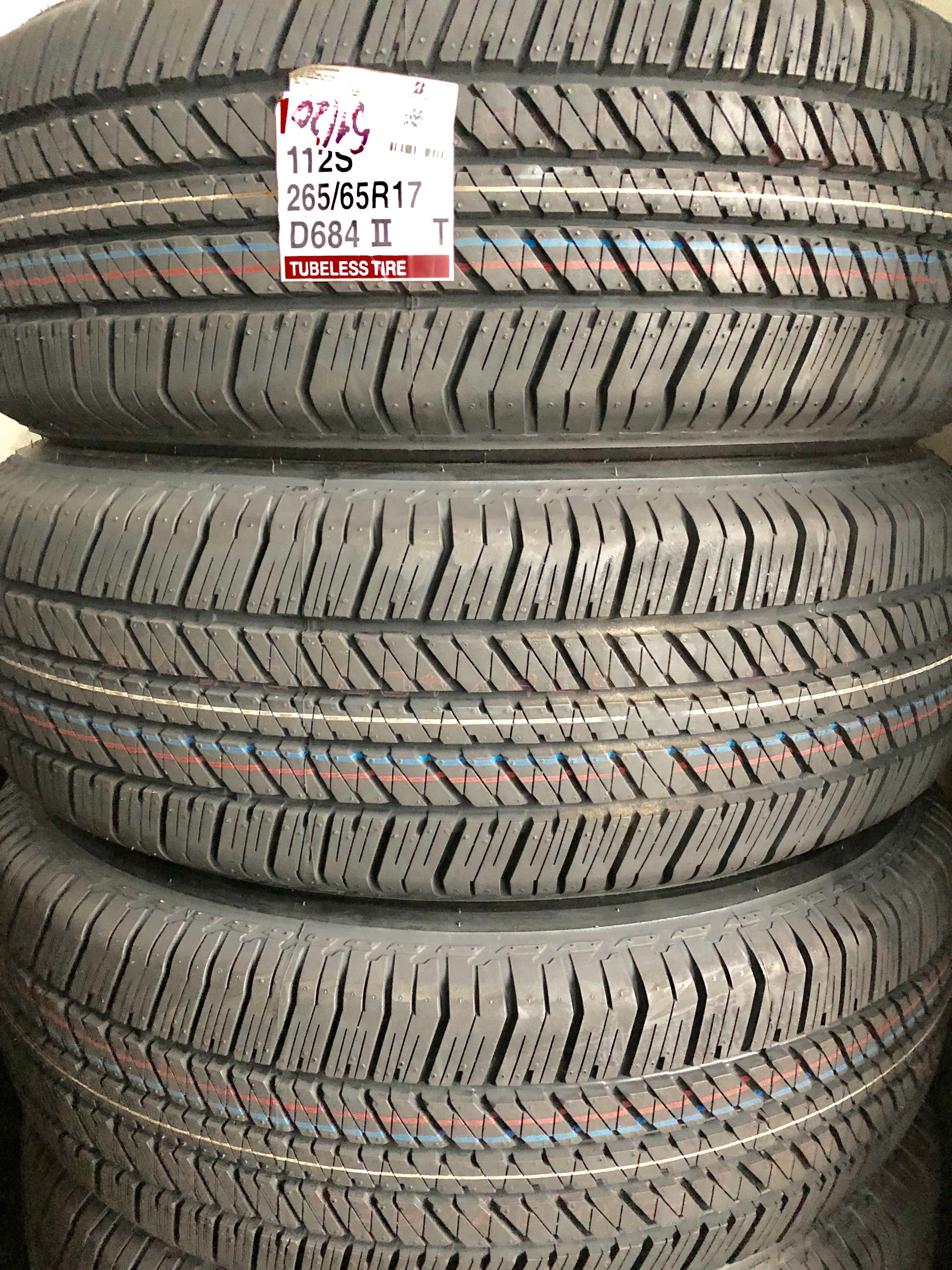 Lốp Bridgestone 265/65/17