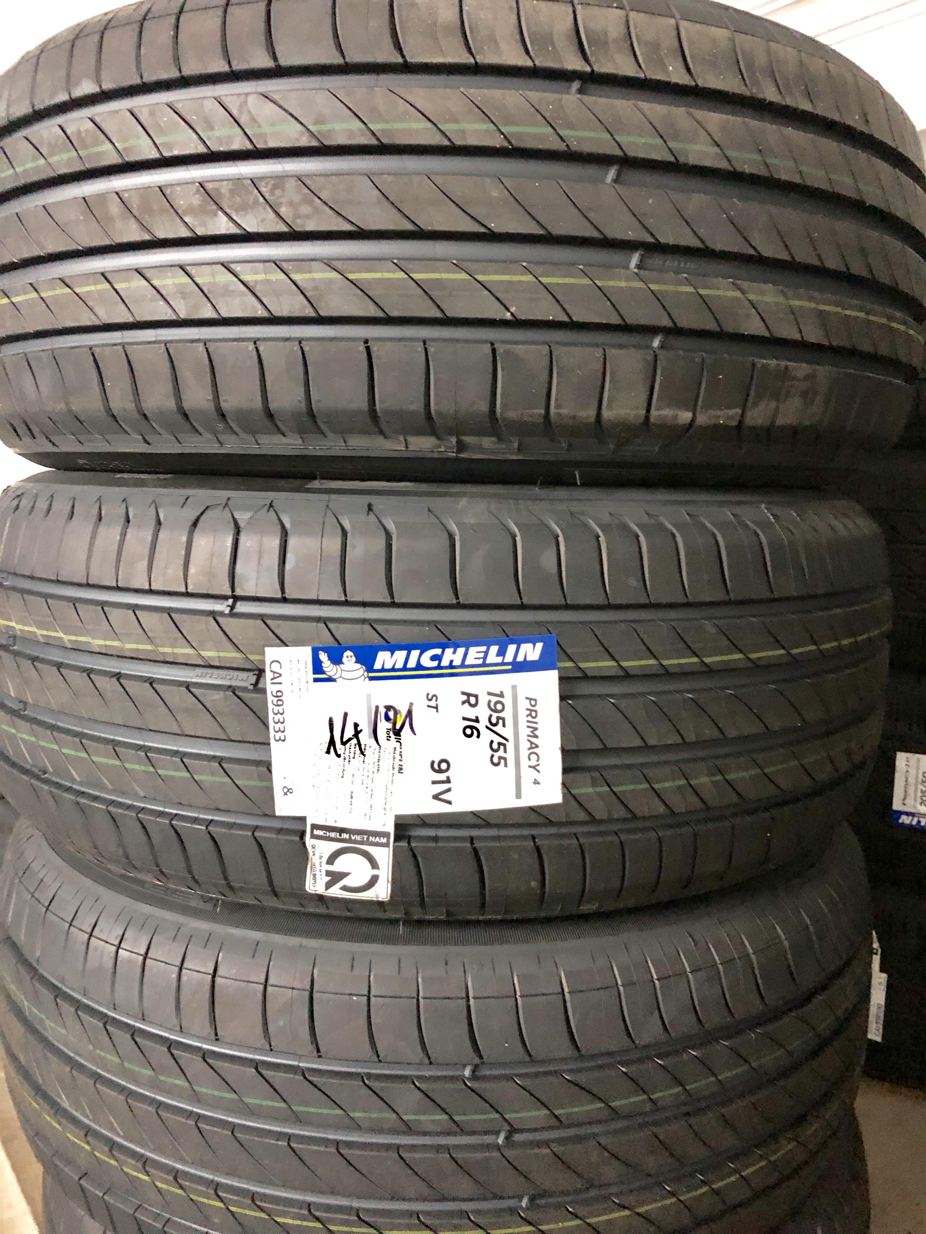 Lốp Michelin 195/55/16