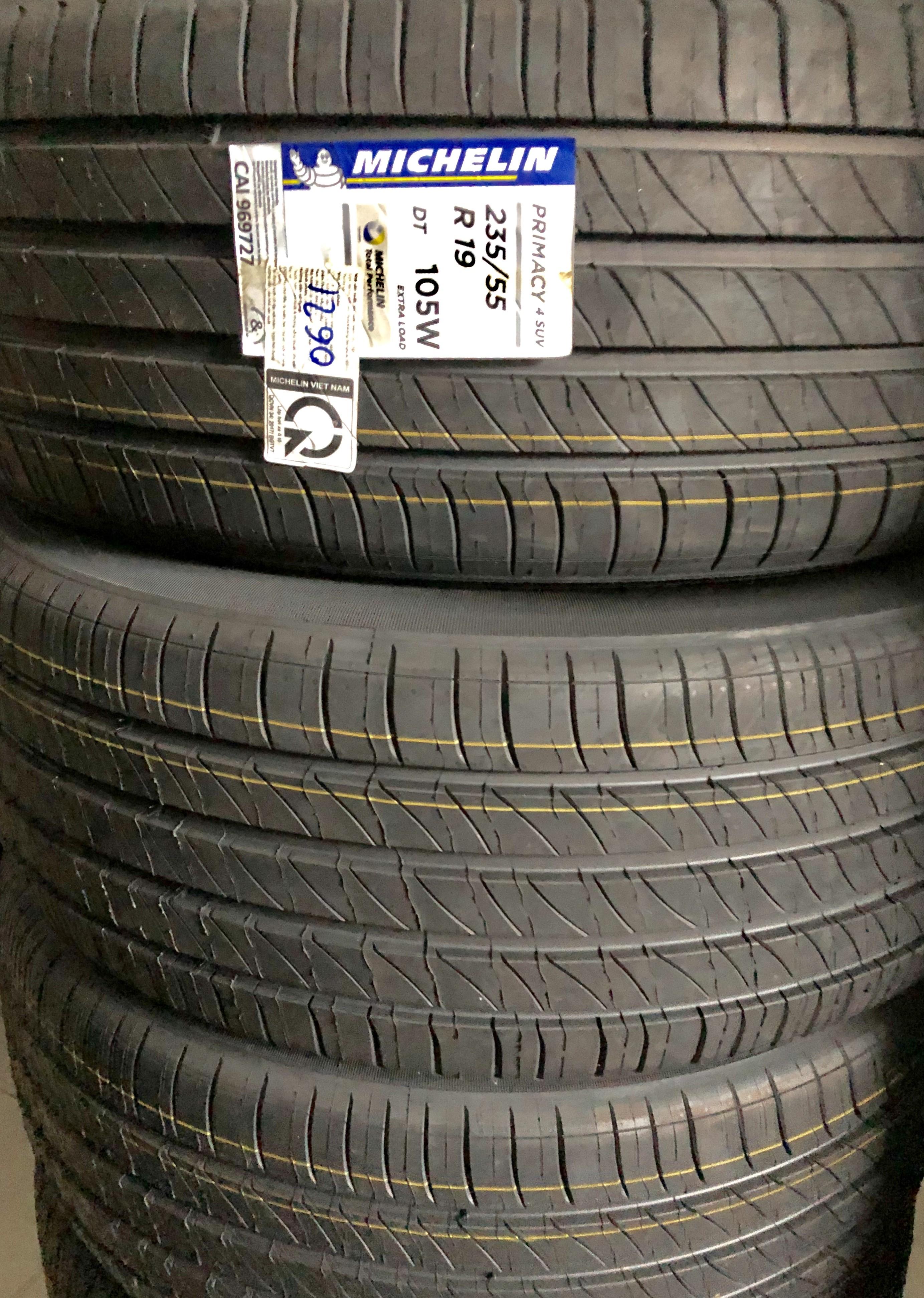 Lốp Michelin 235/55/19 ( Thái Lan)