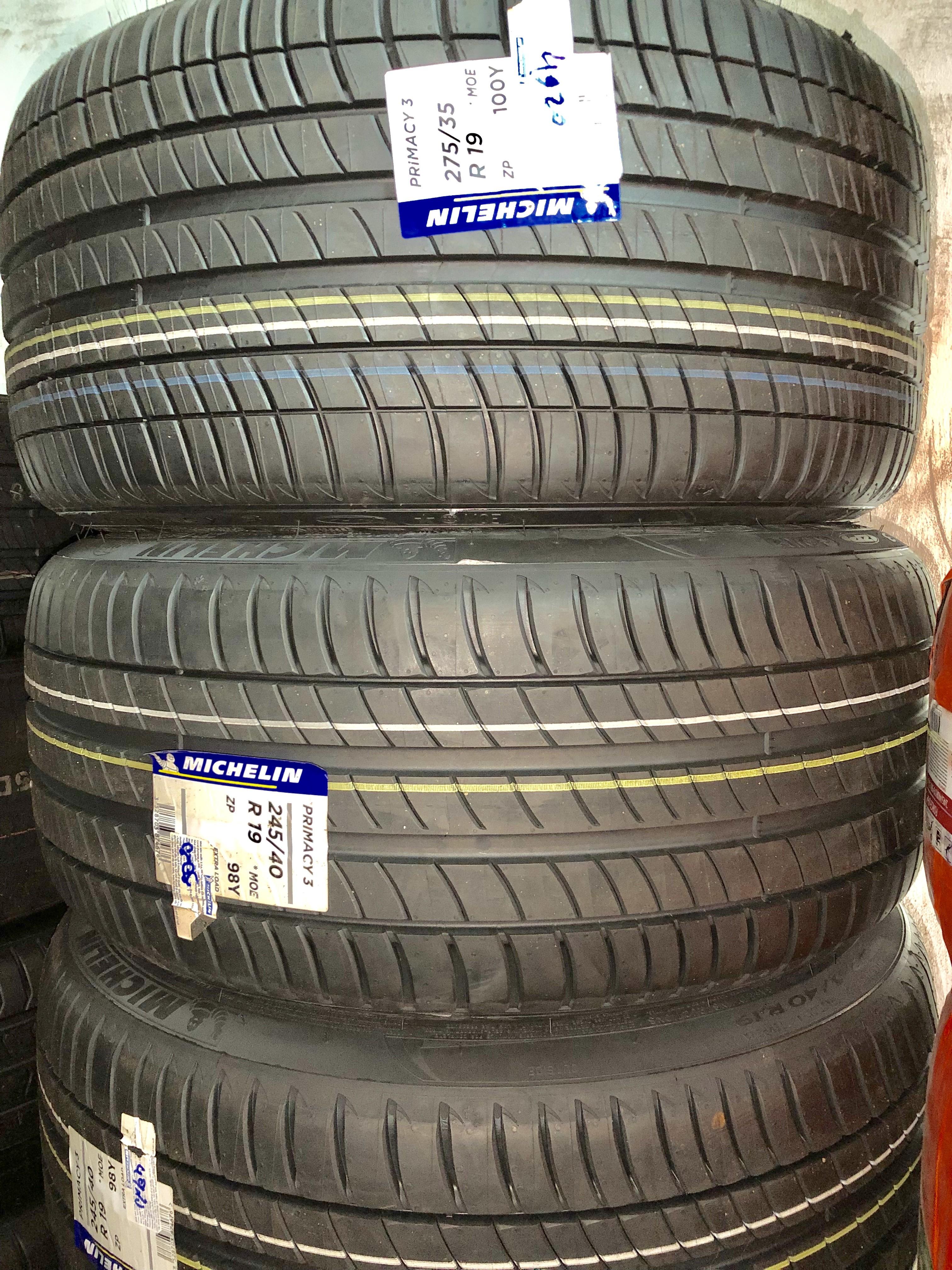 Lốp Michelin chống xịt 245/40/19+275/35/19