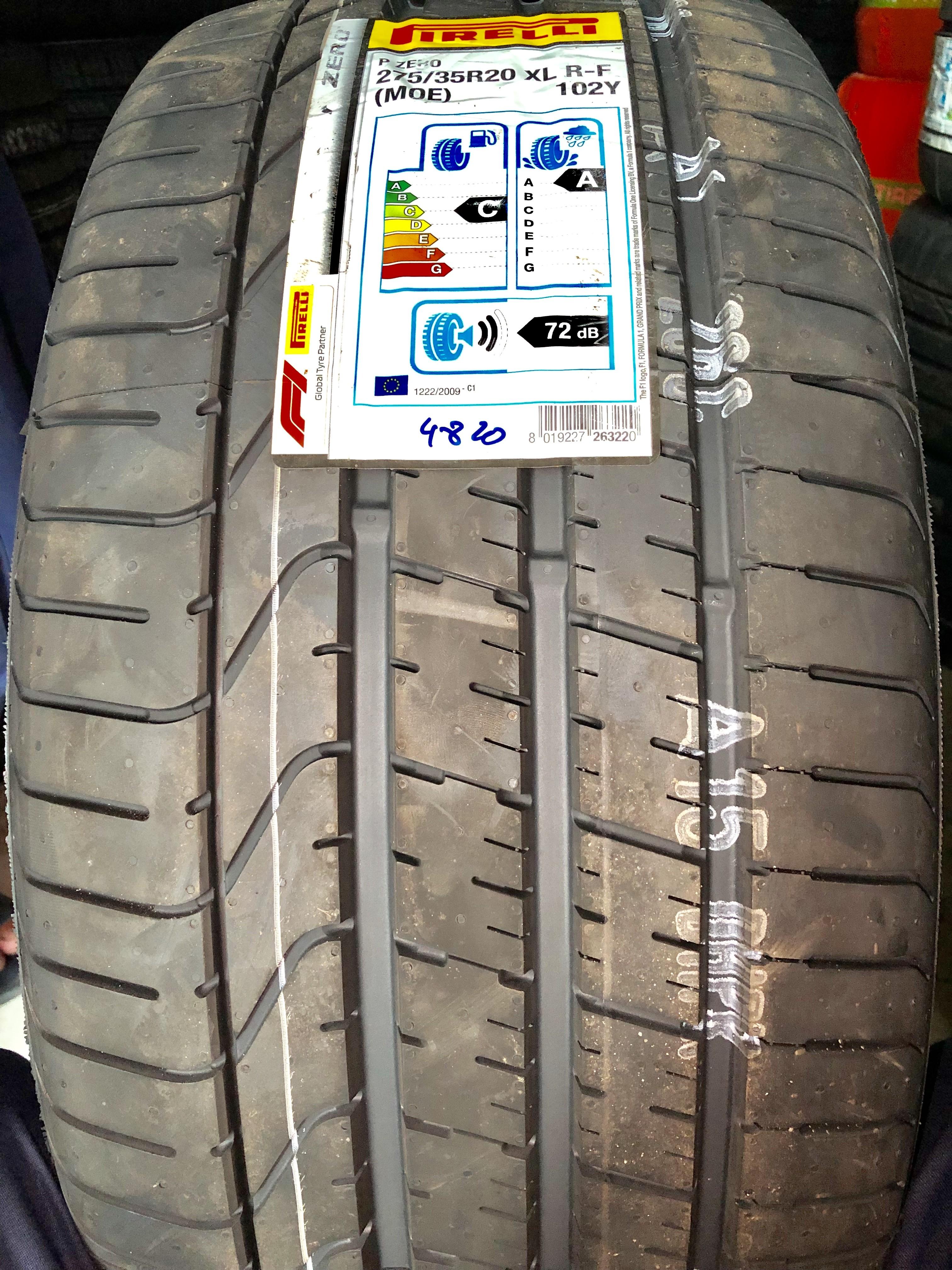 Lốp Pirelli 275/35/20 chống xịt ( Lốp Mer Maybach)