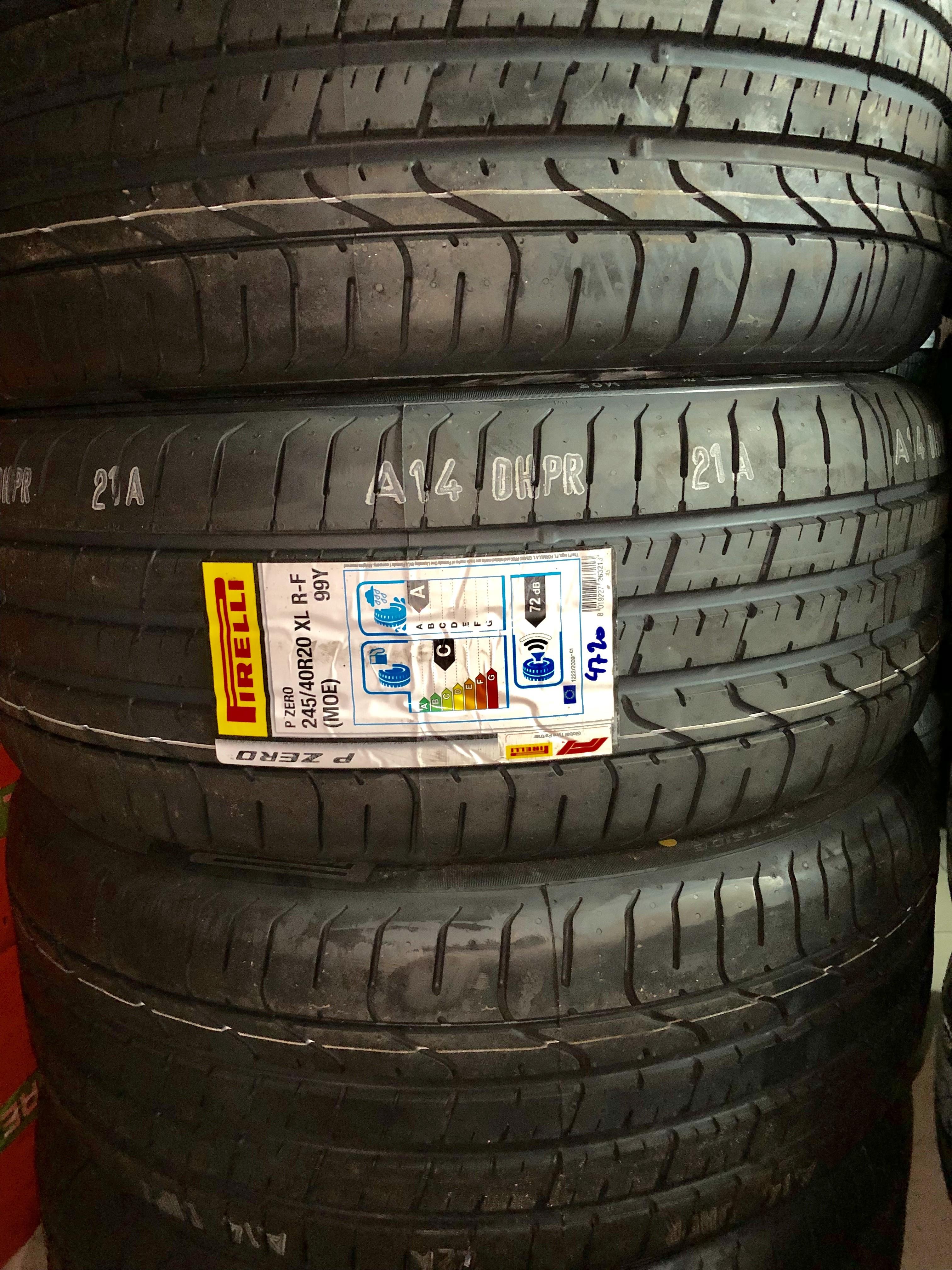 Lốp Pirelli 245/40/20 chống xịt ( Lốp Mer Maybach)